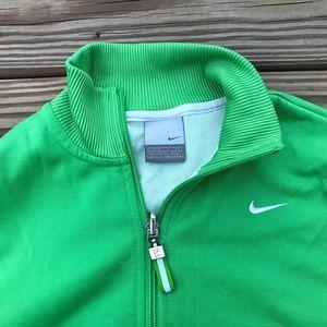 Nike Women Jacket Running Athletic Sport Full Zip